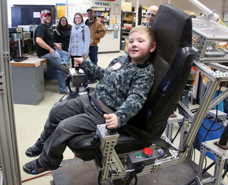 Hands-on activities highlight manufacturing show - Chippewa Herald | Manufacturing | Scoop.it