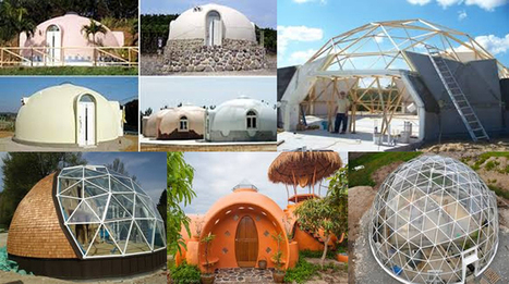 Dome Home Construction | How To Build A Dome House | retail and design | Scoop.it