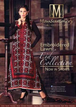 Mausummery  Stylish Dress Collection on Eid-ul-Adha  2013 (6) | fashion | Scoop.it