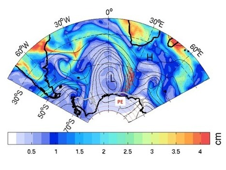 Giant atmospheric rivers add mass to Antarctica's ice sheet #science Leuven | Messenger for mother Earth | Scoop.it