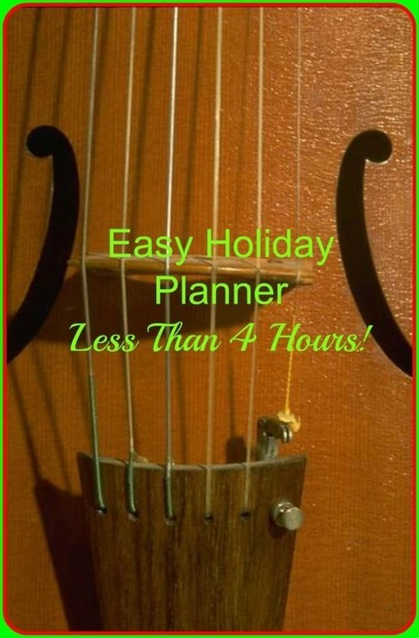 Get Organized Before the Holidays! Easy Holiday Planner! | Best Home Organizing Tips | Scoop.it