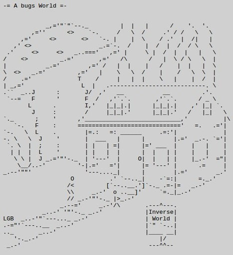 LG Beard ASCII Catalog | ASCII Art | Scoop.it