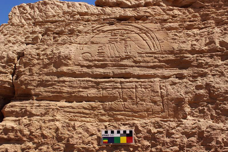 Rock inscriptions and Sphinx discovered at Gebel El Silsila | Egyptology and Archaeology | Scoop.it