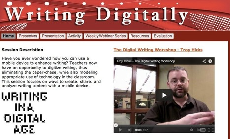 Writing Digitally: Podcast and Materials   Evaluation and assessment in online and blended learning contexts   Scoop.it