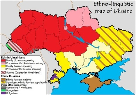 La carte pour comprendre la situation en Ukraine | Slate | Géopolitique & Cartographie | Scoop.it