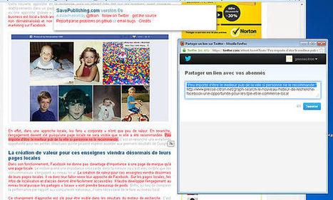 SavePublishing, le Pinterest du texte... pour Twitter | Veille Lettres et Numérique - Académie de Nice | Scoop.it