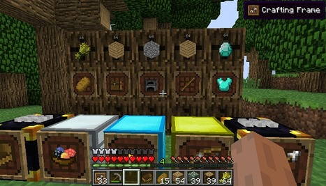 Super Crafting Frame Mod for Minecraft 1.10.0/1.9.4/1.7.10 | Mods for Minecraft | Scoop.it