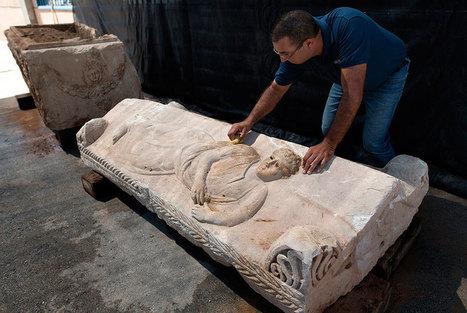 Israel Antiquities Authority recovers unique ancient sarcophagus hidden by contractors | Art Daily | Kiosque du monde : Asie | Scoop.it
