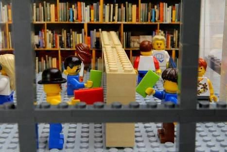 LEGO Libraries and Bookstores - Book Riot | Social Media Tools for Collaboration & Engagement in Libraries | Scoop.it
