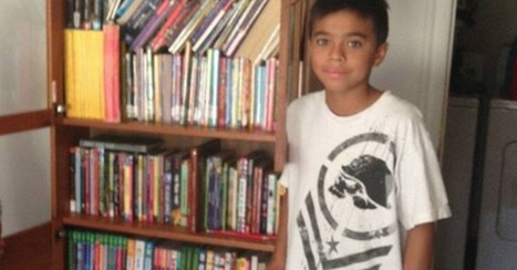 Kind mail carrier gathers books for boy who asked for junk mail to read | Prozac Moments | Scoop.it
