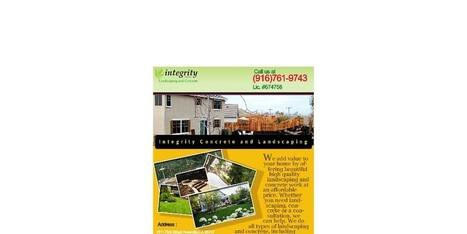 Stamped Concrete Driveway in Dorado Hills, CA | Integrity Landscaping | Scoop.it