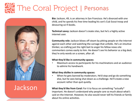 Three new users – The Coral Project | Frontiers of Journalism | Scoop.it