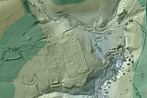 Satoja kilometrejä kadonneita roomalaistietä löytyi laserkuvista   Historia   Scoop.it
