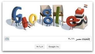 Google Doodle Readies Voters for Egypt Election   Social Media Italy   Scoop.it