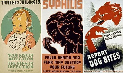 Vintage public health posters show past attitudes towards disease | Health promotion. Social marketing | Scoop.it