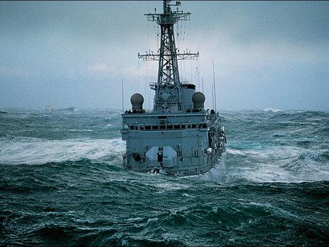 La frégate Primauguet victime d'une fortune de mer | Bernard Darty | Scoop.it