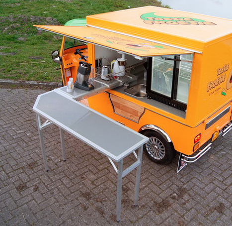 Food Truck Fad Takes An All-Electric Turn | Sustainable Cities Collective | Street food | Scoop.it