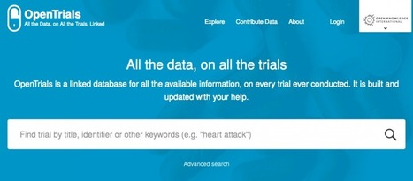 OpenTrials launches beta version today at the World Health Summit | The World of Open | Scoop.it
