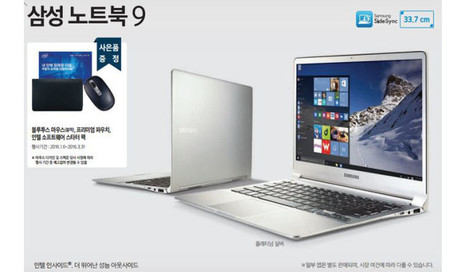 Samsung will reportedly reveal 13 and 15 inch superlight Skylake Ultrabooks at CES | Windows 8 - CompuSpace | Scoop.it