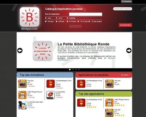 BibApps.com bientôt en ligne ! | Blog de la Petite Bibliothèque Ronde | Les Enfants et la Lecture | Scoop.it