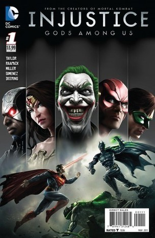 ECC publica el cómic de Injustice en junio - Hobby Consolas | Movies, TV, Books, Comics, Games | Scoop.it