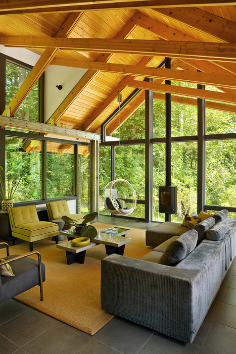18 Fresh Interior Design Trends to Watch For in 2014 | Modern Home: Green, Clean, and Beautiful | Scoop.it