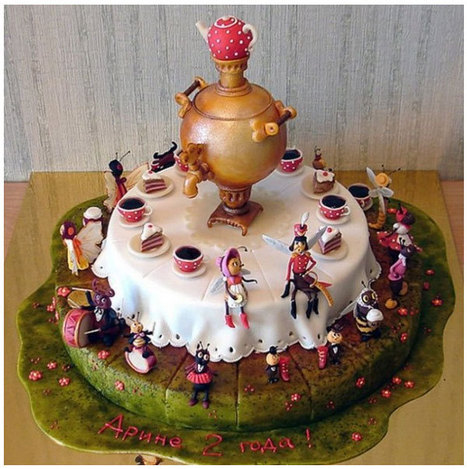 Food Art: Exclusive Cakes by Jeanne Zubov   The Wondrous Design Magazine   @FoodMeditations Time   Scoop.it