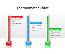 Free Thermometer Chart PowerPoint Template - Free PowerPoint Templates - SlideHunter.com | Diagrams | Scoop.it