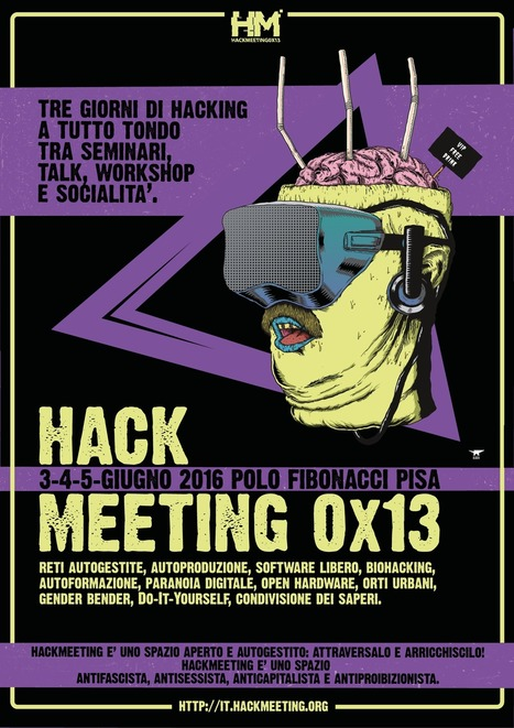 Crittografia,  hacking e scrittura collettiva: siamo stati all'Hackmeeting 0x13 | Pillole di informazione digitale | Scoop.it