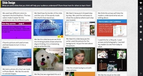 Studying Slide Design: Learning from #EdcampKids | Leaves | Scoop.it