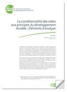 La conditionnalité des aides aux principes du développement durable / Etd | RêveSolutions | Scoop.it