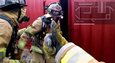 Google Glass : une application pour les pompiers - Le Journal du Geek | news android from klynefr | Scoop.it