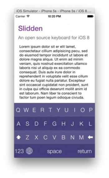 iOS Library For Easily Creating Fully Customizable Keyboards For Use As iOS 8 Keyboard Extensions | iPhone and iPad development | Scoop.it