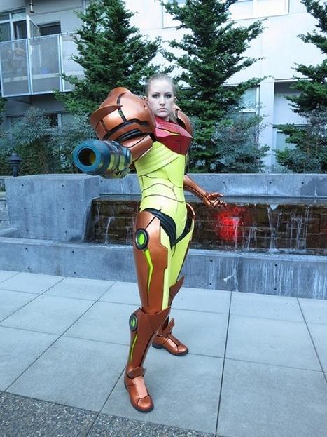 Metroid – Un cosplay de Samus Aran qui déboîte ! - Gamelove | Cosplay | Scoop.it