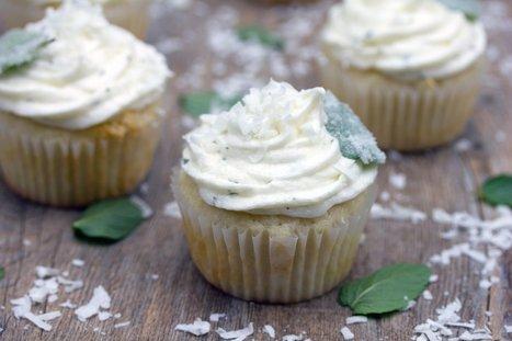 Fresh Chocolate Mint Kicks Up Coconut Cupcakes | Just Chocolate!!! | Scoop.it