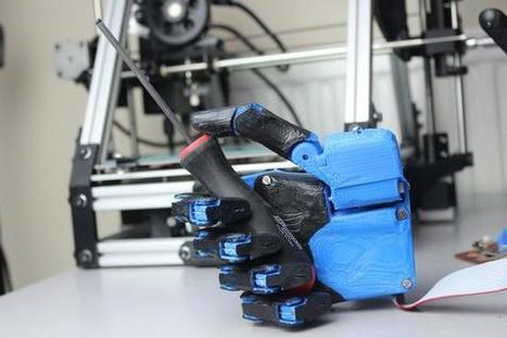Amazing Prosthetic Hand Can Be Created In 42 Hours And Costs Just $3,000 | Managing Technology and Talent for Learning & Innovation | Scoop.it