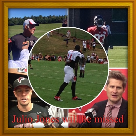 Falcons WR Julio Jones resting well after surgery   Fantasy Football   Scoop.it