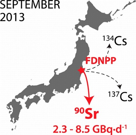 Reassessment of 90Sr, 137Cs, and 134Cs in the Coast off Japan Derived from the Fukushima Dai-ichi Nuclear Accident | Mineralogy, Geochemistry, Mineral Surfaces & Nanogeoscience | Scoop.it