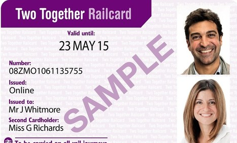A third off rail travel - but only if you go as a couple: New £30 railcard will give discounts for taking the train together | F584 Transport Economics | Scoop.it