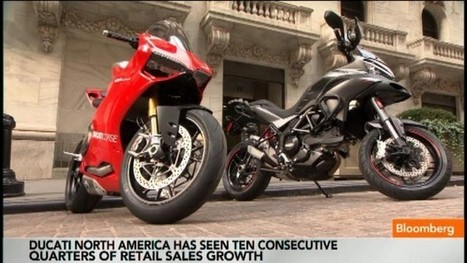 Video | What's Driving Ducati's Success in North America? | Bloomberg.com | Ductalk Ducati News | Scoop.it