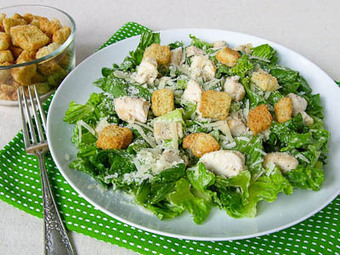 Grilled Chicken Caesar Salad for #SundaySupper | Food & Wine | Scoop.it