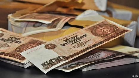East Germany's phantom banknotes | Germany | DW.DE | 03.11.2014 | afep-papier-monnaie-actu | Scoop.it