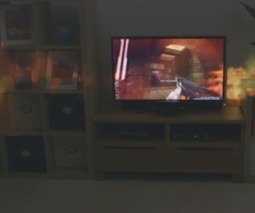 Watch this: Microsoft's Illumiroom demo breaks past the limitation of TV frames   Future Gaming Technologies   Scoop.it