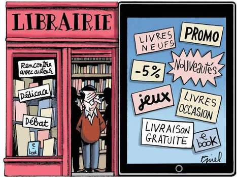 L'édition française face aux défis du numérique | Librairies | Scoop.it