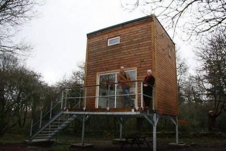 Une maison de 40 m² pour 35000 euros : Ils l'ont fait…. | Astuces pour une vie moins chère... | Scoop.it