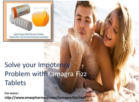 Kamagra Fizz hopeful for securing intimacy health. | Health | Scoop.it