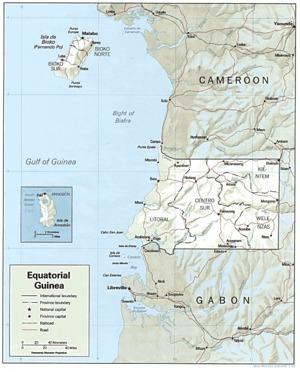 Area of Guinea Ecuatorial | Guinea Ecuatorial | Scoop.it