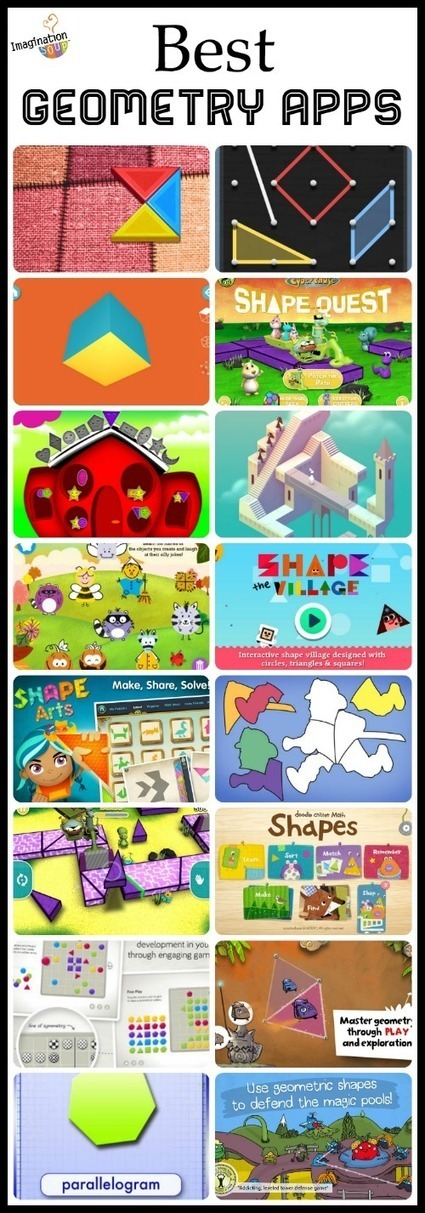 Best Geometry Apps for Kids | Math, Technology and UDL:  Closing the Achievement Gap | Scoop.it