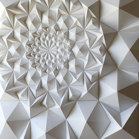 Matt Shlian: The Unconventional Artist and Paper Engineer | PROYECTO ESPACIOS | Scoop.it