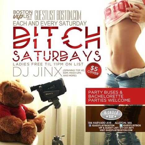 Ditch Saturdays at Wonder Bar | Boston Nightlife | Scoop.it